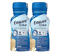 Ensure Enlive Advanced Nutrition Shake Ready-to-Drink - Vanilla - 4 - 8 fl oz