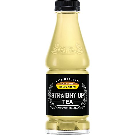 Snapple Straight Up Tea Sorta Sweet Honey Green - 18.5 Fl. Oz.