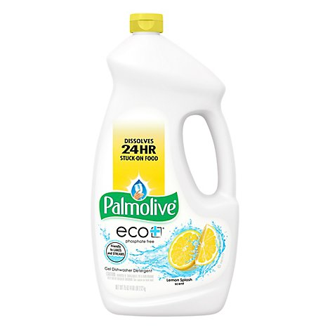 Palmolive Eco+ Dishwasher Detergent Gel Lemon Splash Scent - 75 Fl. Oz.