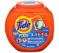 Tide Pods Laundry Detergent Pacs 3 in 1 Original - 42 Count