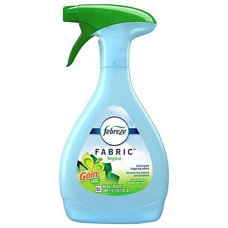Febreze Fabric Refresher Spray Original With Gain Scent Bottle - 27 Fl. Oz.