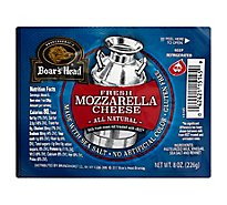 Boars Head Fresh Mozzarella Ball - 8 Oz