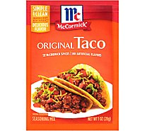 McCormick Seasoning Mix Original Taco - 1.25 Oz