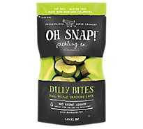 Oh Snap Pickle Bites Dill Frsh Kosher - 3.5 Oz