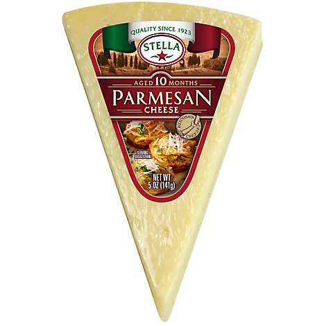 Stella Parmesan Cheese Wedge - 5 Oz