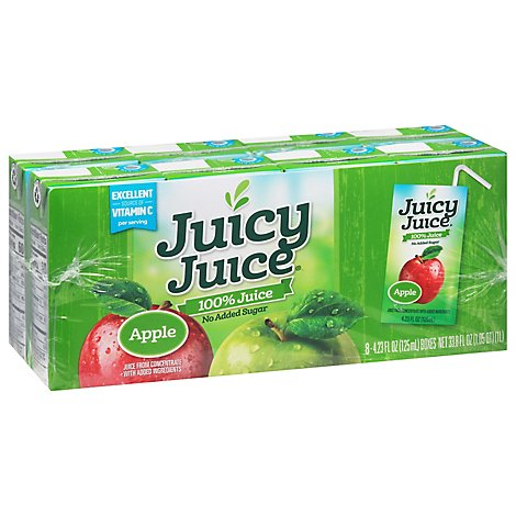 Juicy Juice Juice Blend Apple - 8-4.23 Fl. Oz.