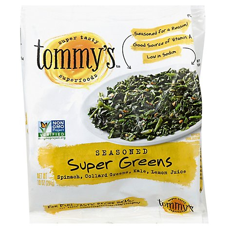 Tommys Superfoods Seasoned Super Greens - 10 Oz