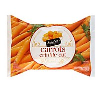 Signature SELECT Carrots Crinkle Cut - 16 Oz