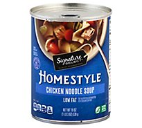 Signature SELECT Soup Homestyle Chicken Noodle - 19 Oz