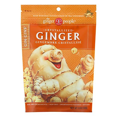 Ginger People Ginger Candy Crystallized - 3.5 Oz