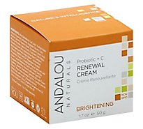 Andlo Face Crm Probiotic C Renewl - 1.7 Oz