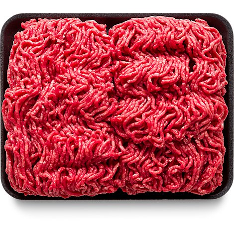 Meat Counter Beef Ground Beef 85% Lean 15% Fat Market Trim Valu Pack - 3.00 LB