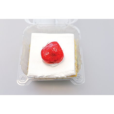 Bakery Cake 8 Inch Tres Leches With White Whip - Each