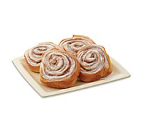 Bakery Cinnamon Rolls 4 Count - Each