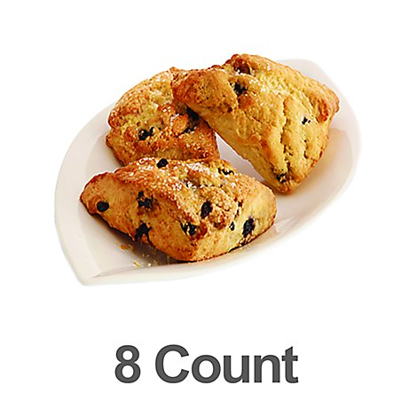 Bakery Scones Blueberry 8 Count - Each