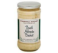 Stonewall Kitchen Sauce Basil Alfredo Jar - 15 Oz