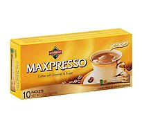 Maxpresso Coffee Freeze Dried with Cream & Sugar Packets - 10 Count