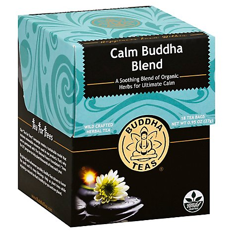 Buddha Teas Herbal Tea Organic Buddha Blend  - 18 Count