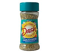 Mrs. Dash Seasoning Blend Salt-Free Garlic & Herb - 2.5 Oz