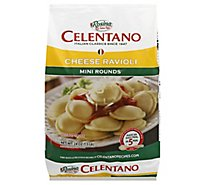 Celentano Mini Round Cheese Ravioli - 24 Oz