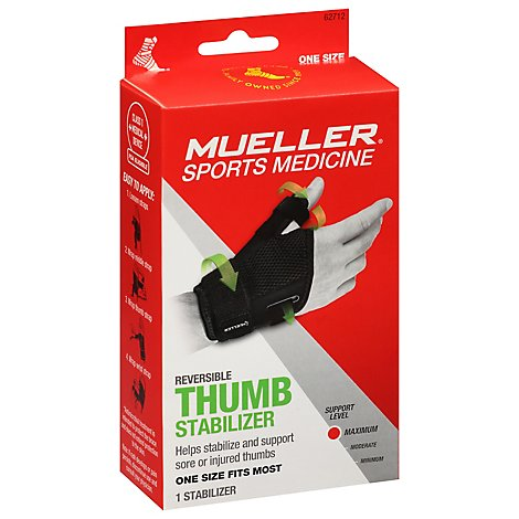 Mueller Thumb Stabilizer Reversible Maximum Support Level - Each