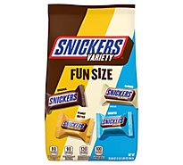 Snickers Chocolate Candy Bars Fun Size Variety Mix 35.09 Oz