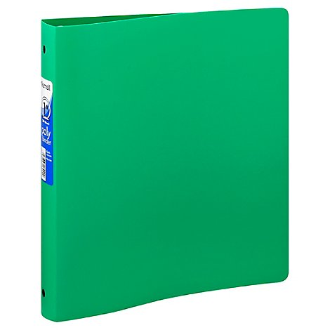 Samsill Binder Poly 1 Inch 200 Sheets - Each