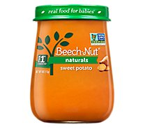 Beech-Nut Baby Food Naturals Stage 1 Just Sweet Potatoes Jar - 4 Oz