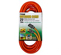Prime Extension Cord Orange 25 Feet - Each