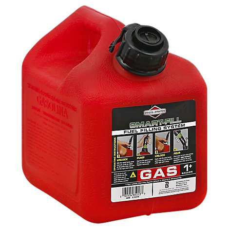 Briggs Stratton Plastic Gas Can - Each