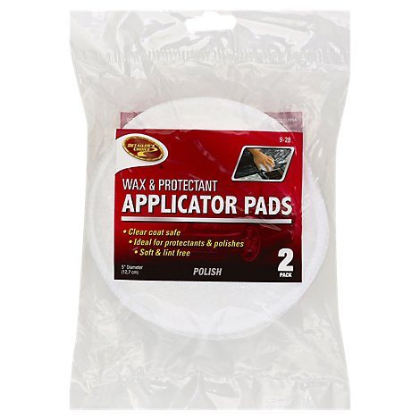 Detailers Choice Applicator Pad Cln Rite - 2 Count
