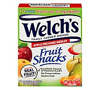 Welchs Fruit Snacks Apple Orchard Medley - 10-0.9 Oz
