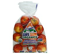 Apples Gala Organic Prepacked - 3 Lb