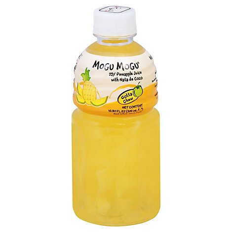 Mogu Mogu Pineapple Juice - 320 Ml