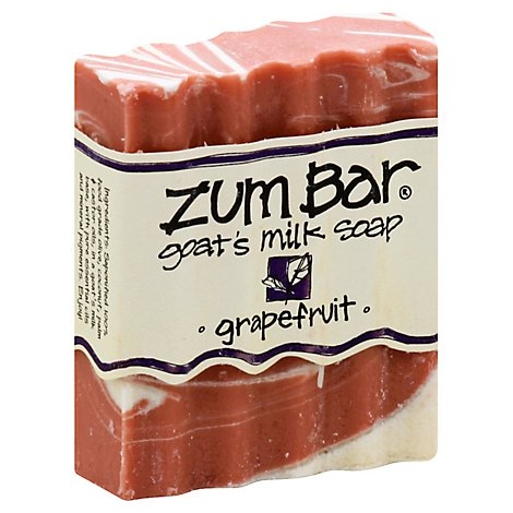 Zum Bar Soap Goats Milk Grapefruit - 3 Oz