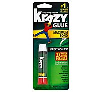 Krazy Glue Super Glue Maximum Bond Precision Tip - 0.07 Oz
