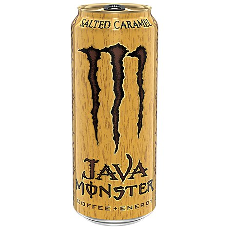 Monster Energy Java Monster Coffee + Energy Drink Salted Caramel - 15 Fl. Oz.