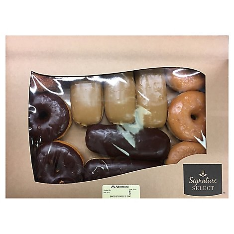 Bakery Donut Raised Assorted 12 Count - Each