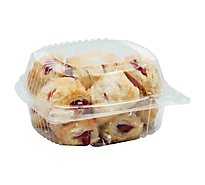 Bakery Bites Strawberry Cheese Pastry 16 Count - Each