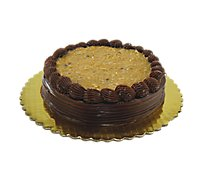 Bakery Cake 8 Inch 2 Layer Prem German Chocolate - Each
