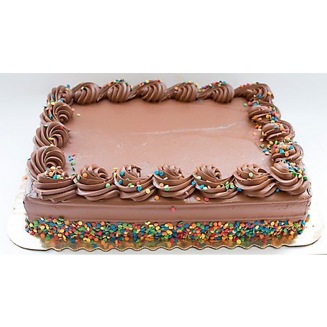 Bakery Cake 8 Inch 2 Layer Italian Creme - Each
