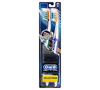 Oral-B Pro-Flex Toothbrush Tough On Plaque Gentle On Gums Soft Value Pack - 2 Count