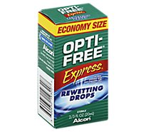 Alcon Opti-Free Express Rewetting Drops - .65 Fl. Oz.