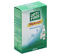 Alcon Opti Free Replenish Travel Pk - 4 Fl. Oz.