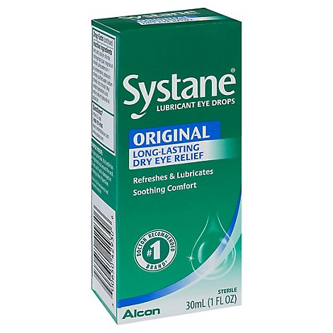 Alcon Systane Eye Drops Lubricant - 1 Fl. Oz.