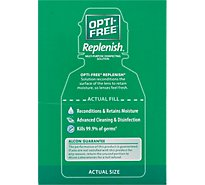 Opti Free Replenish Disinfecting Solution Multi-Purpose Enhanced Comfort - 2 Fl. Oz.