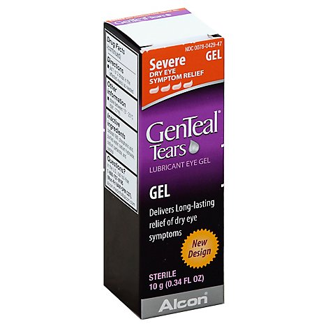 Genteal Eye Gel Lubricant - 10 Ml