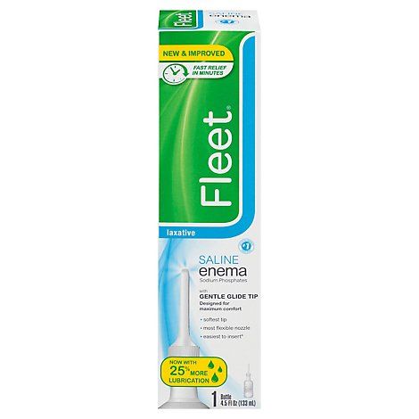 Fleet Enema Ready To Use - 4.5 Fl. Oz.