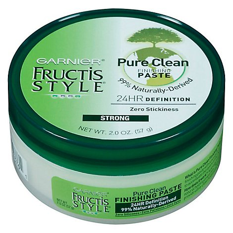 Garnier Fructis Style Finishing Paste Pure Clean Hold - 2 Oz