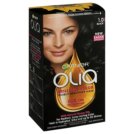 Grnr Olia Hair Color Black - Each